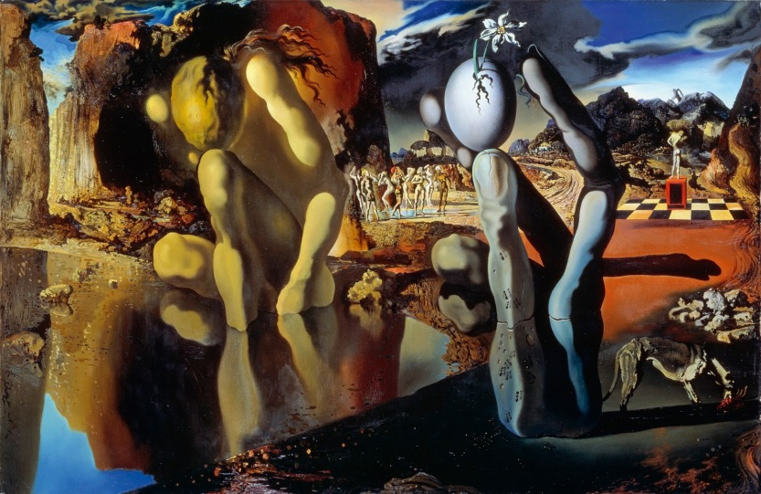 Resultado de imagen para Metamorfosis de narciso, 1937